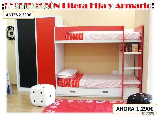 Muebles en oferta liquidaciones de muebles juveniles y for Muebles infantiles camas