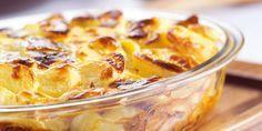 Boodschappen - Aardappel-spekkoek uit de oven