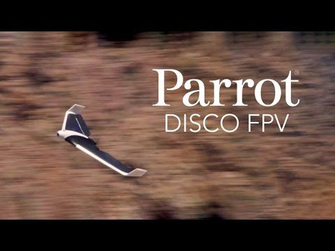 Parrot's fixed wing Disco drone takes flight next month for $1,300 | TechCrunch