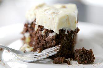 Phil Vickery's gluten-free fudgy almond cake