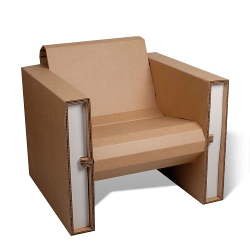 cardboard chair | Flickr - Photo Sharing!