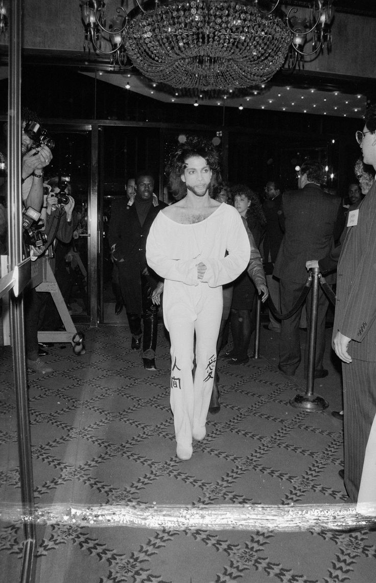 Prince • 1990 'Graffiti Bridge' Movie Premier New York.