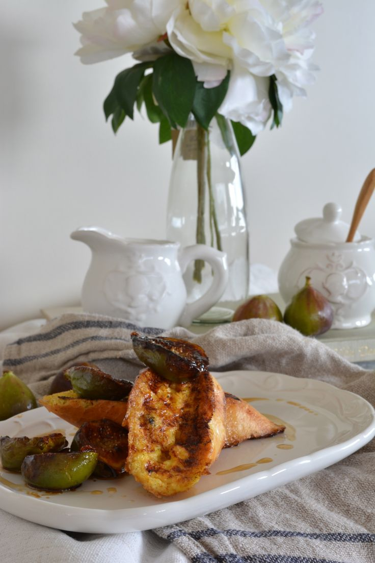 Caramelized figs on Vanilla french toast. Check out the recipe at www.thedesignstore.co.nz or www.countrykitchennz.com