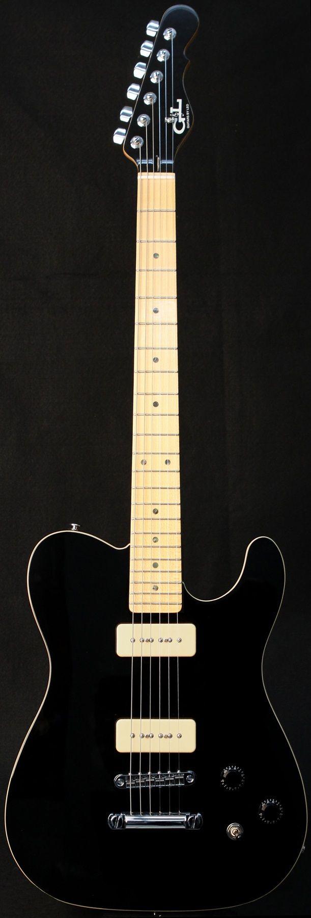 G&L Guitars ASAT® Junior II, Black over Alder