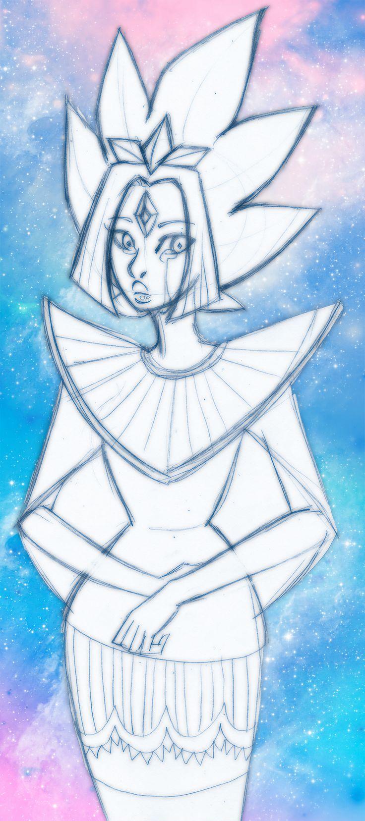 steven_universe___white_diamond___glory_by_gyakuten_no_megami-da3gyea.jpg (800×1802)