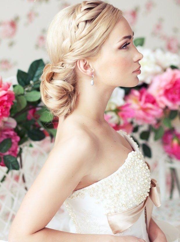 Hochzeitsfrisuren 2014-lässig elagant-weiblich Flechtfrisuren