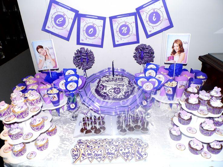 Fiesta Temática Violetta