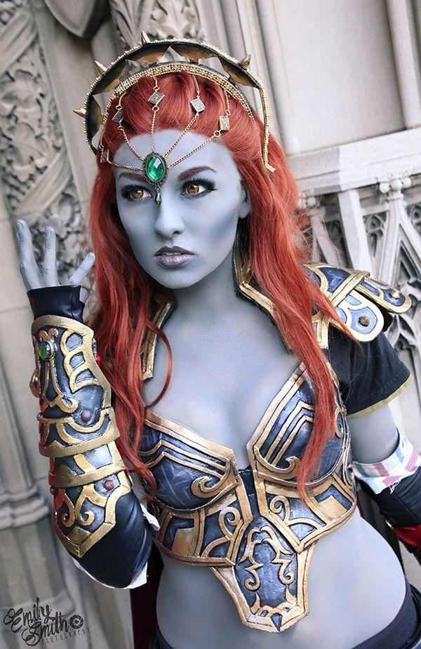 Gender swapped Dark Lord Ganondorf by Elyrenae