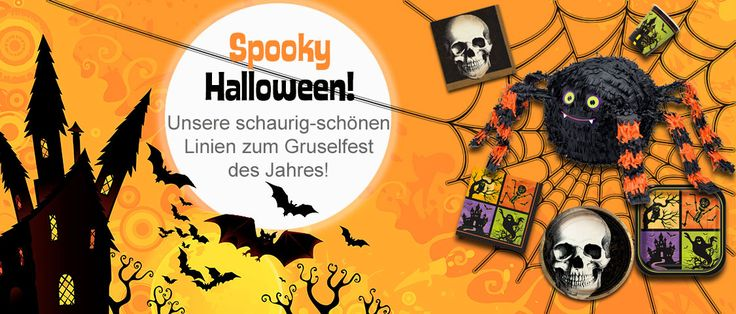 Halloween im junior-partyshop.ch