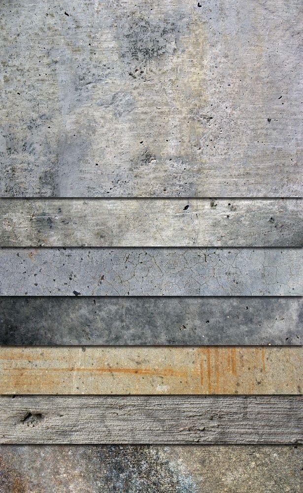 concrete, textures