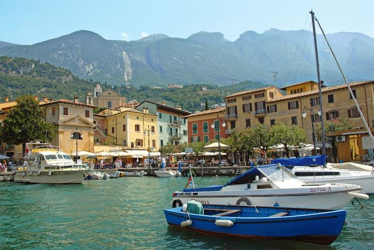 Malcesine, Gardajärvi - Italia - on ollut yksi Oriflamen palkintomatkoistani