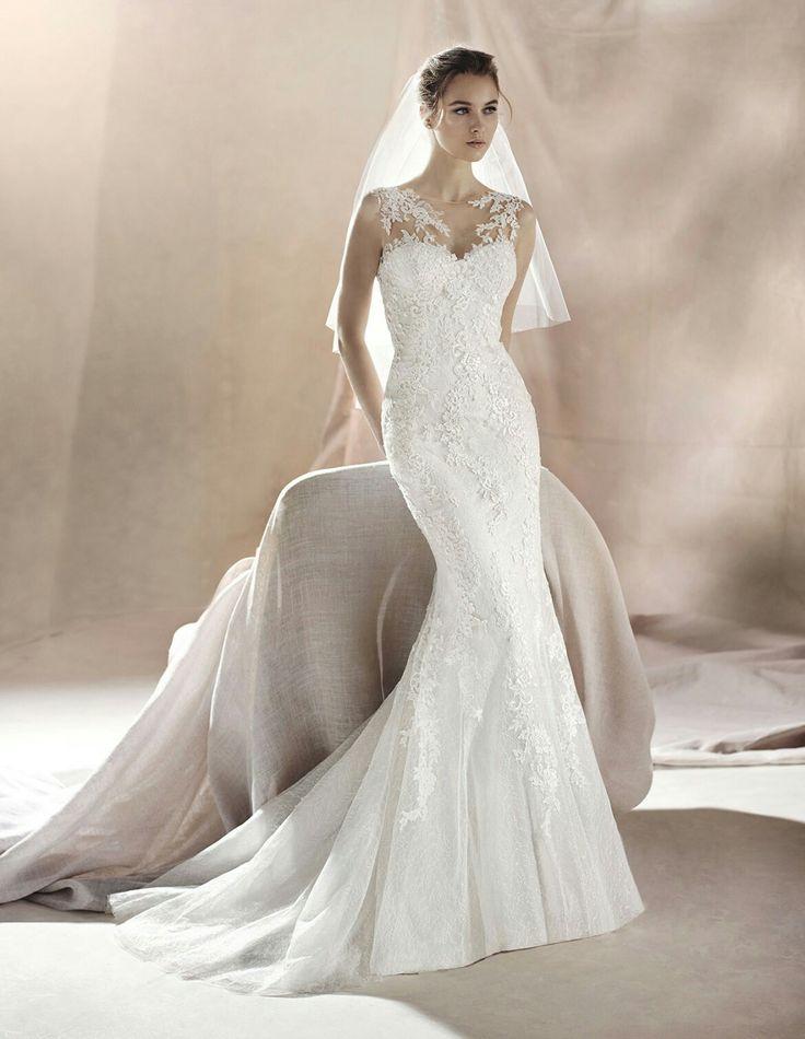 7 besten Brautmode 2017 Bilder auf Pinterest | Hochzeitskleider ...