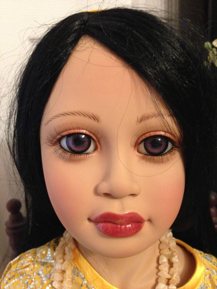"""DWI Saptono Catharina Syanty Vinyl Oriental 35"""" Doll Le 95 200 Masterpeice   eBay"""