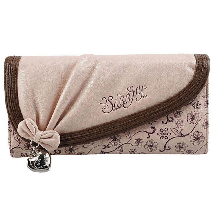 Snoopy SNOOPY wallet women's long design 2013 wallet cartoon s2491-10 $19.68