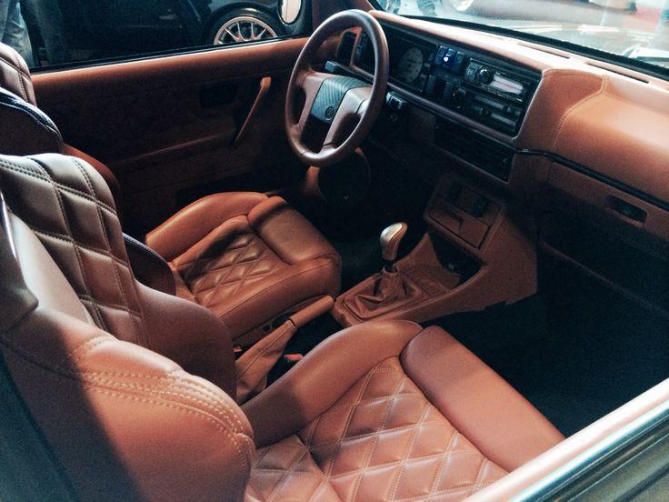 Stunning Mk2 Golf interior - Ultimate Dubs 2014