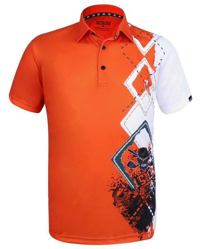 9cf45244 The new Player golf polo, combining a classic argyle design, some wild  graphics, and our ProCool fabric technology to make this men's golf shirt a  go-to ...