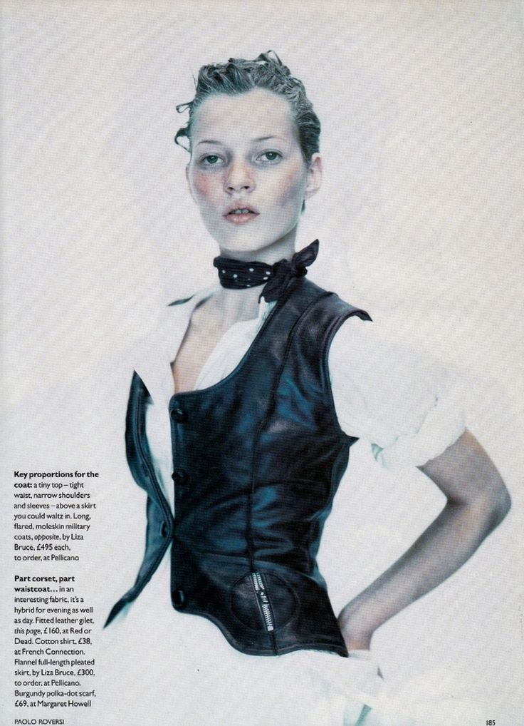 ☆ Kate Moss | Photography by Paolo Roversi | For Vogue Magazine UK | October 1993