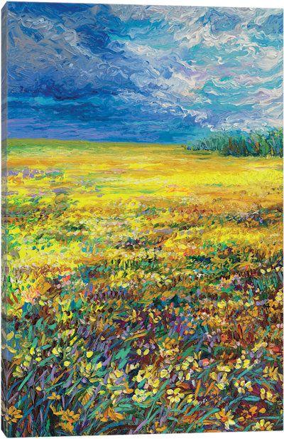Wyoming Triptych Panel I Canvas Art Print
