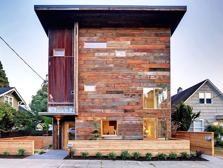 Dwell Development's outstanding zero-energy Emerald Star home in Seattle is almost entirely reclaimed | Inhabitat - Sustainable Design Innovation, Eco Architecture, Green Building
