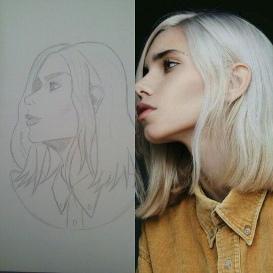 I did a thing!   #drawing #art #work #pencil #sketch #pretty #girl