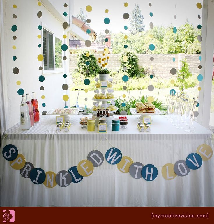 Kara's Party Ideas Sprinkle Party {Baby Shower} - Kara's Party Ideas - The Place for All Things Party