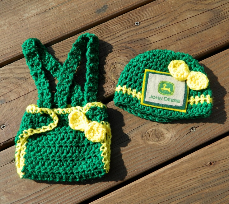 Deere Infant Hat Crochet Pattern : 174 best images about Crochet Diaper Cover Sets and ...