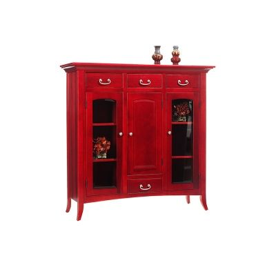 Dutch Pantry 23-DP  English Shaker Furniture Made in USA Builder10 Outlet Discount Furniture Selections   Discount Furniture at Amish Oak and Cherry, Hickory, NC
