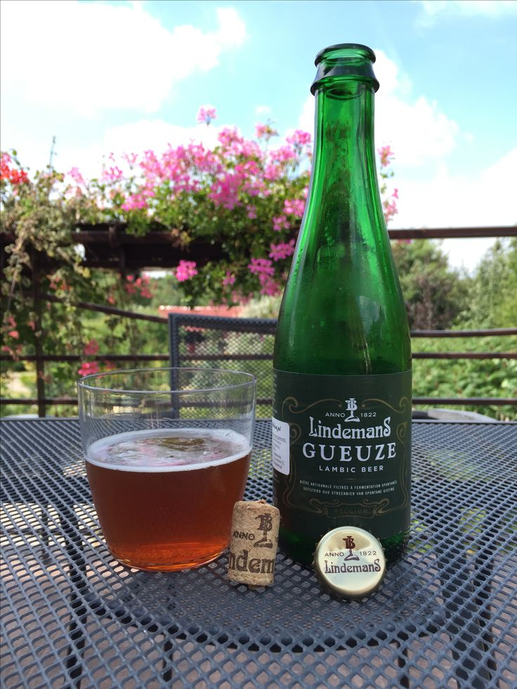 Gueuze Lambic Beer - Lindemans, 2016.08.13