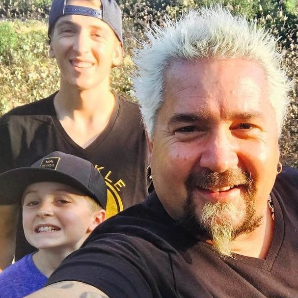 Guy Fieri Reveals He Loves Cooking And Eating Vegan Meals With His