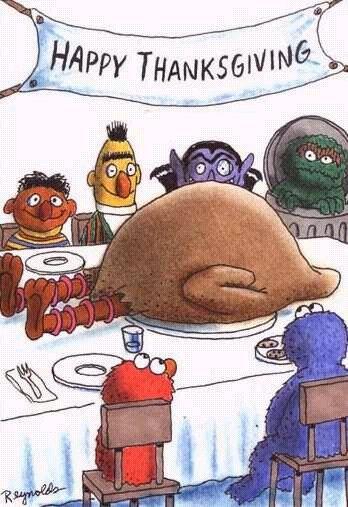 Really fowl big bird humor :(