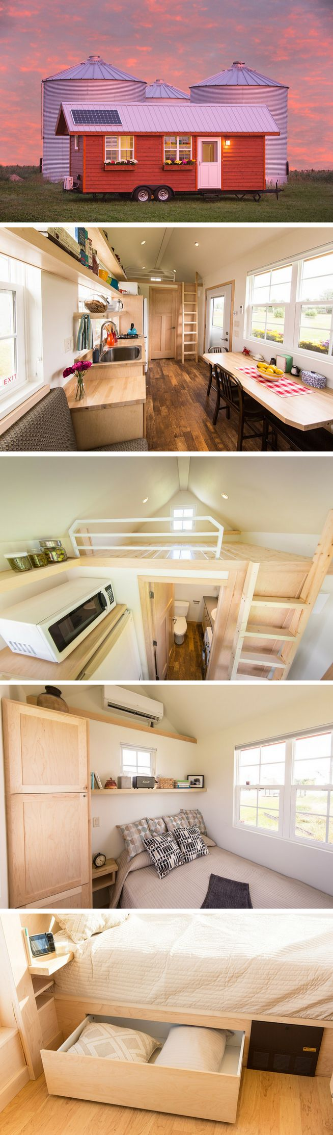 1006 best tiny and small houses 3 images on Pinterest | Tiny house On Wheels Tiny House Designs B E A on
