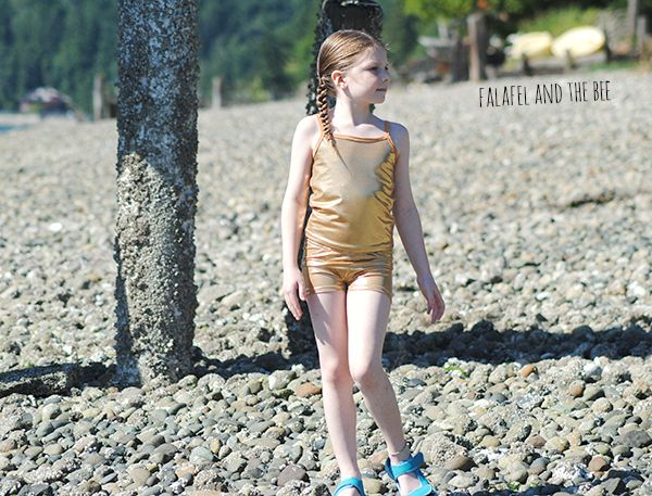 Gold Tankini Easy Pattern