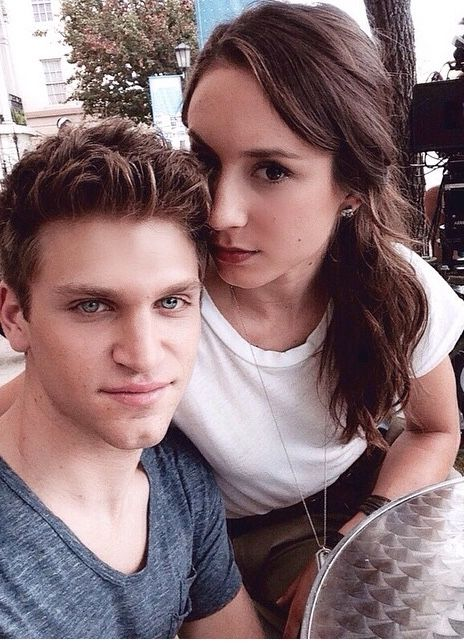 Toby Cavanaugh & Spencer Hastings • Keegan Allen & Troian Bellisario