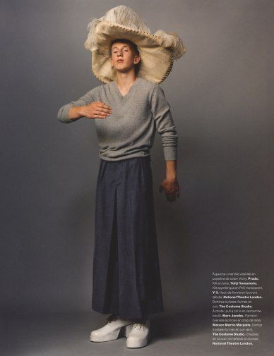 Numero Homme FW 13.14 ph: Jamie Hawkesworth fashion editor: Benjamin Bruno