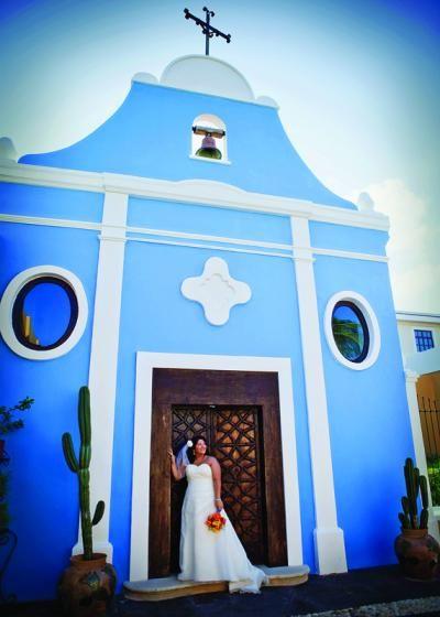 Wedding chapel at Dreams Tulum Resort & Spa in Riviera Maya, Mexico