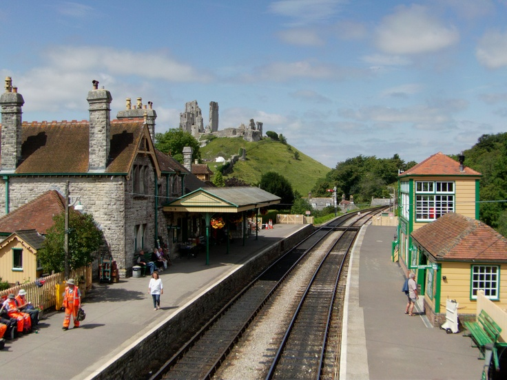 Corfe Station - Dorset, made famous in Harry Potter