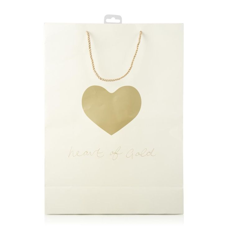 Heart of Gold Gift Bag