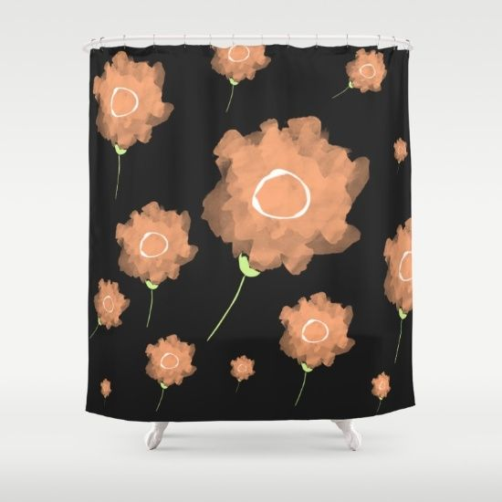 Imaginary Flowers II Shower Curtain