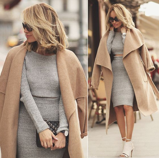 Zara Coat, Missguided Co Ord, Chanel Purse, Smilingshoes Sandals, Daniel Wellington Watch