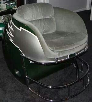 Sweet chair for the Ultimate Philadelphia Eagles fan