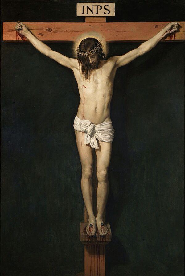 """Il Cristo """"moroso"""" o Cristo dei debitori."""