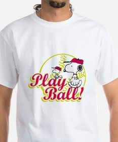 Play Ball Snoopy Shirt for