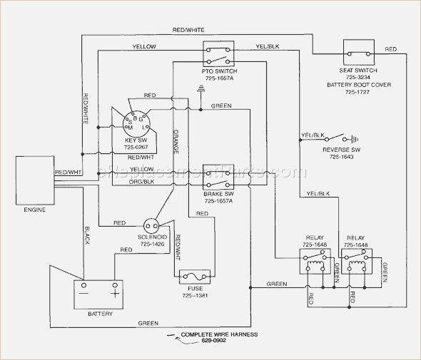 mtd yard machine wiring diagram davehaynes me | Yard machine