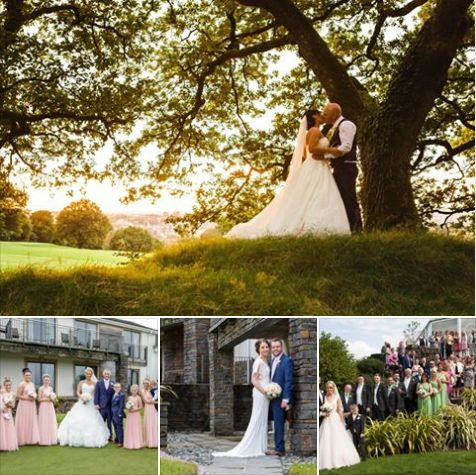 Delighted To Be Asked Pare In The Bryn Meadows Golf Hotel Spa Wedding