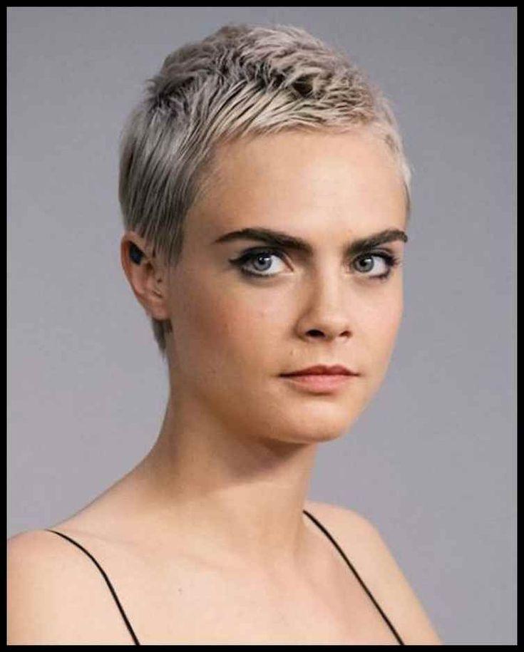 25 Top Sehr kurze Haar-Ideen – Frisuren 2018-2019 | Frisuren Frauen … | Frisur…