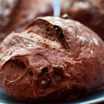 DAGOBA organic chocolate is perfect for baking. Get the recipe for DAGOBA Chocolate Bread with Dried Sour Cherries and more.