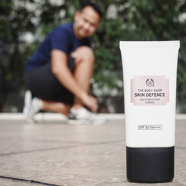 When am talking about healty life, am also talking about healthy skin... . Skin Defence is my guard from the sun . @TheBodyShopIndo  #SkinDefence  #MySkinDefence