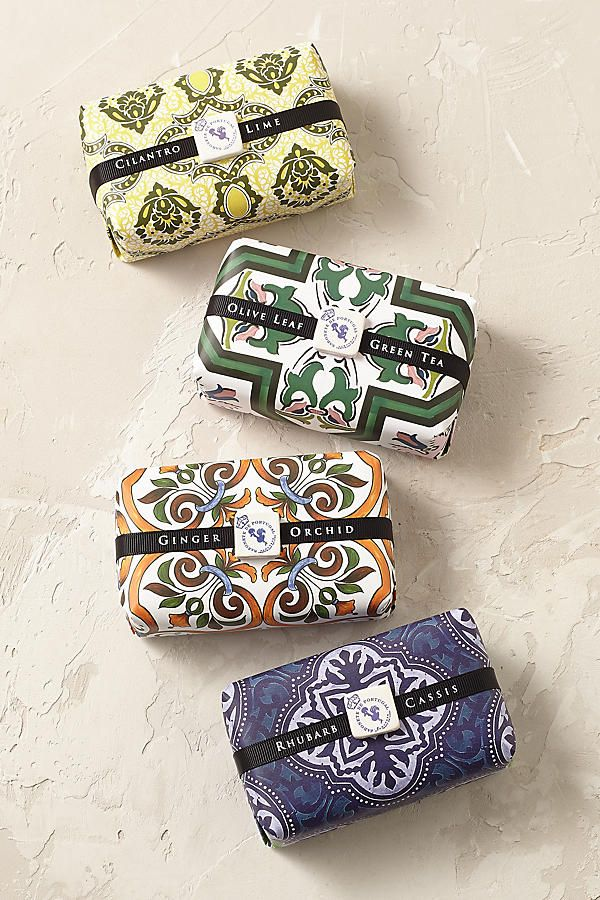 Graphic Design | Packaging Design | Castelbel - Portuguese soaps, too pretty to open (almost)