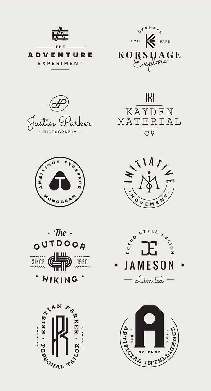 ナチュラルテイスト!かわいいロゴデザイン多数あります。デザインの参考