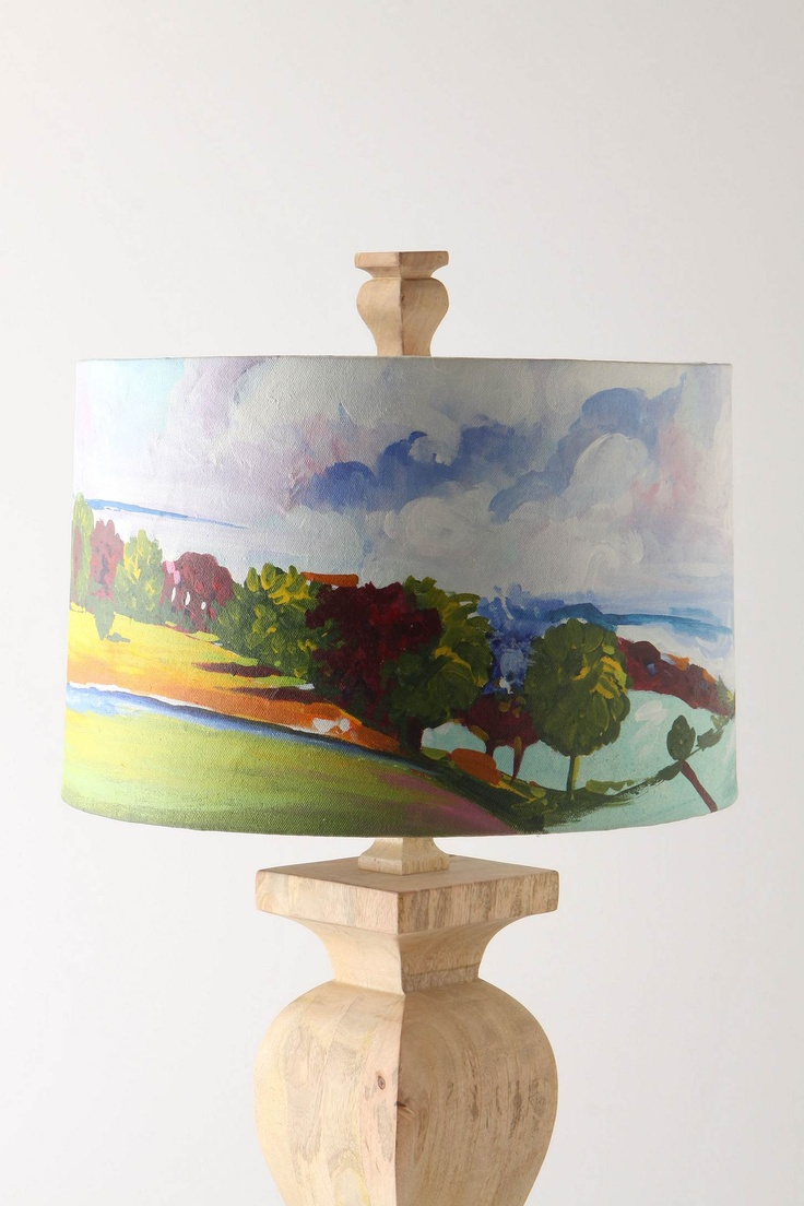 A Hand Painted Lamp Shade Oh Yes Lamp Shades